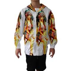 Indian 16 Hooded Wind Breaker (kids)