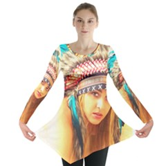 Indian 14 Long Sleeve Tunic