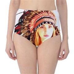 Indian 3 High Waist Bikini Bottoms