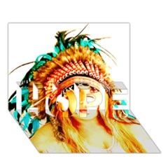 Indian 29 Hope 3d Greeting Card (7x5)