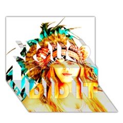 Indian 29 You Did It 3d Greeting Card (7x5)