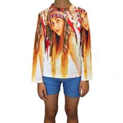 Indian 26 Kid s Long Sleeve Swimwear