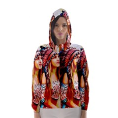 Indian 22 Hooded Wind Breaker (Women)