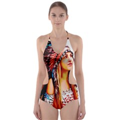 Indian 22 Cut-Out One Piece Swimsuit