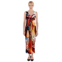 Indian 22 Fitted Maxi Dress