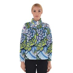 Peaceful Flower Garden Winterwear
