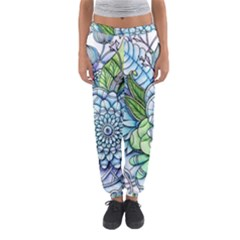 Peaceful Flower Garden 2 Women s Jogger Sweatpants
