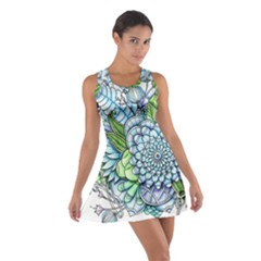 Peaceful Flower Garden 2 Racerback Dresses