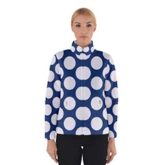 Dark Blue Polkadot Winterwear