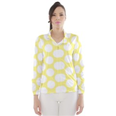 Yellow Polkadot Wind Breaker (women)