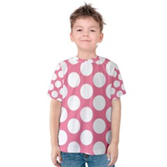 Pink Polkadot Kid s Cotton Tee