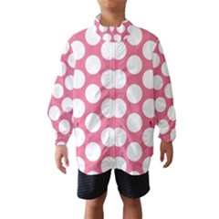 Pink Polkadot Wind Breaker (Kids)