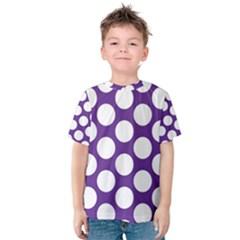 Purple Polkadot Kid s Cotton Tee