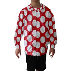 Red Polkadot Hooded Wind Breaker (Kids)