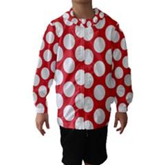 Red Polkadot Hooded Wind Breaker (kids)