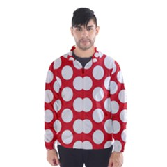 Red Polkadot Wind Breaker (Men)