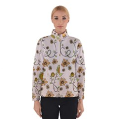 Yellow Whimsical Flowers  Winterwear