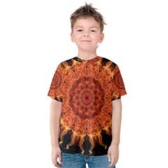 Flaming Sun Kid s Cotton Tee