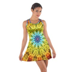 Flower Bouquet Racerback Dresses