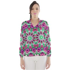 Flower Garden Wind Breaker (women)