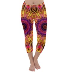 Gemstone Dream Capri Winter Leggings