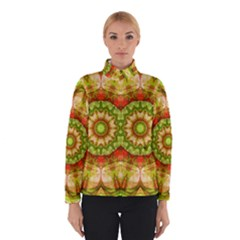 Red Green Apples Mandala Winterwear