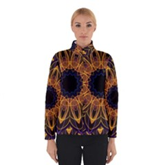 Yellow Purple Lotus Mandala Winterwear