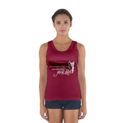 Faith, Trust, and a Little Pixie Dust in MaroonTank Top