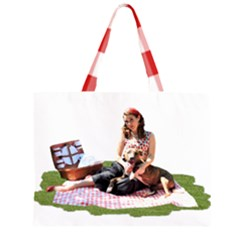 Pittie Picnic 2011 Zipper Large Tote Bag