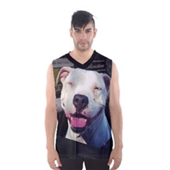Smile Men s Basketball Tank Top
