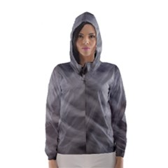 Gray Fog Hooded Wind Breaker (Women)