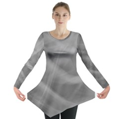 Gray Fog Long Sleeve Tunic