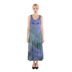 Purple Fog Full Print Maxi Dress