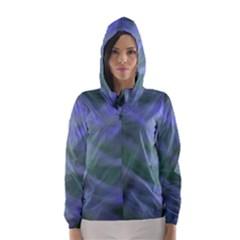 Purple Fog Hooded Wind Breaker (Women)