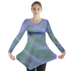 Purple Fog Long Sleeve Tunic