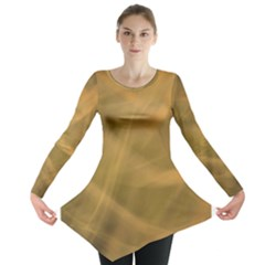 Brown Fog Long Sleeve Tunic
