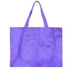 Purple Modern Leaf Large Tote Bag