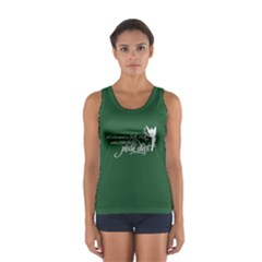 Faith, Trust, and a Little Pixie Dust in Pine Green Tank Top