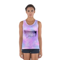 Faith, Trust, and a Little Pixie Dust in Pastels Tank Top