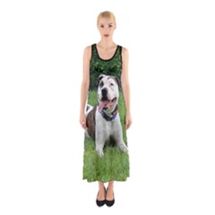 Pit Bull T Bone Full Print Maxi Dress