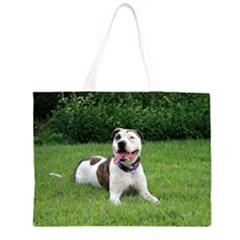 Pit Bull T Bone Large Tote Bag