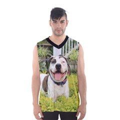 Pit Bull T Bone Men s Basketball Tank Top