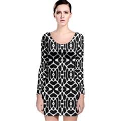 Lit30215001006009 Long Sleeve Velvet Bodycon Dress