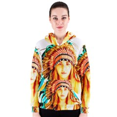 Indian 29 Women s Zipper Hoodie