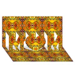 Roof555 Mom 3d Greeting Card (8x4)