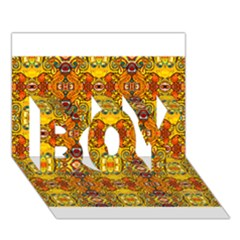 Roof555 BOY 3D Greeting Card (7x5)
