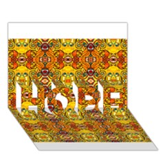 Roof555 HOPE 3D Greeting Card (7x5)