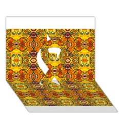 Roof555 Ribbon 3D Greeting Card (7x5)