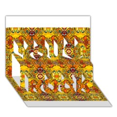 Roof555 You Rock 3d Greeting Card (7x5)