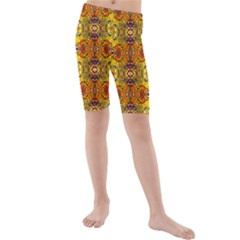 Roof555 Kid s Mid Length Swim Shorts